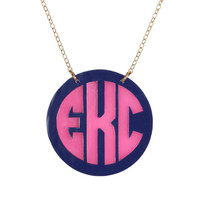 Cannes Two-Tone Necklace