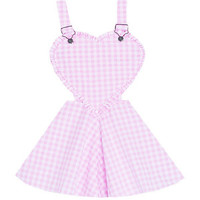 Sweet Heart Overalls Dress Bonne Chance Collections