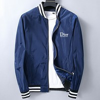 Dior Fashion Casual Loose  Cardigan Jacket Coat