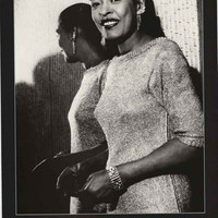 Billie Holiday Lady Day Portrait Poster 24x34