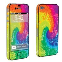 Apple iPhone 4 or 4s Full Body Decal Vinyl Skin - Tie Dye By SkinGuardz