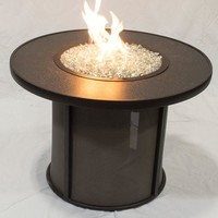 "Stonefire 32"" Fire Pit Table-Burner-Cov Qty of 1"