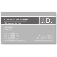 grey professional : business card templates from Zazzle.com