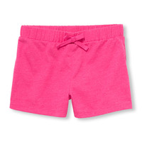Girls Matchables Solid Knit Shortie Shorts | The Children's Place