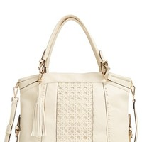 Sole Society Oversize Woven Tote
