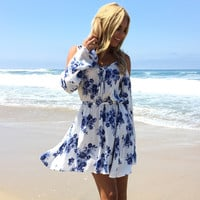 Sea Bloom Floral Dress