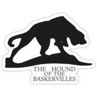 Hound of the Baskervilles Typography