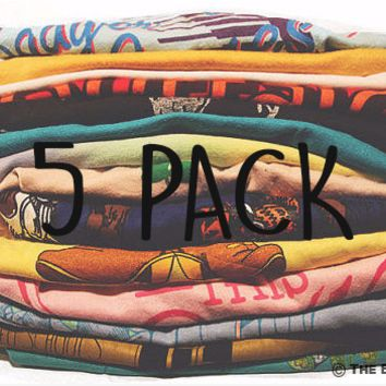 5 Pack of Vintage T-shirts