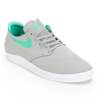 Nike SB Lunar One Shot Base Grey & Crystal Mint Shoe