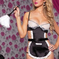 Cute On Sale Hot Deal Sexy Cosplay Uniform Set Exotic Lingerie [6595817539]
