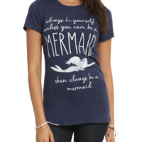 Disney The Little Mermaid Always Be Yourself Girls T-Shirt