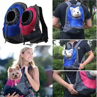AerWo Dog Cat Pet Carrier Portable Outdoor Travel Backpack