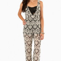 Baroque With Me Jumpsuit $47