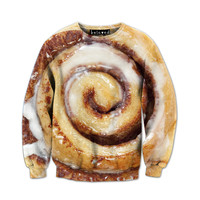 Cinnamon Roll Sweatshirt - READY TO SHIP