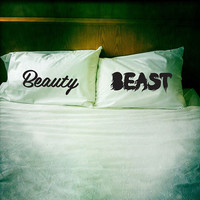 Beauty & Beast pillowcase set