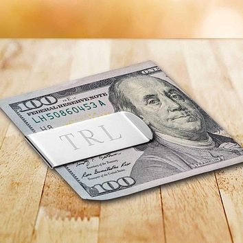 Personalized Classic Metal Money Clip