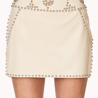 Out West Studded Mini Skirt