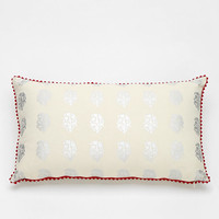 Magical Thinking Paisley Hologram Pillow - Urban Outfitters