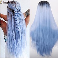 Straight Long Synthetic Wigs