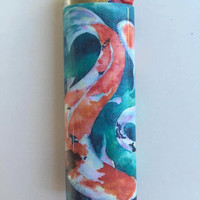 Koi fish custom BIC lighter