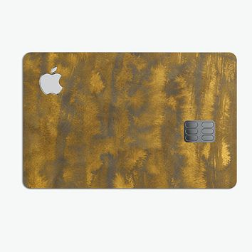 Golden Field Filter - Premium Protective Decal Skin-Kit for the Apple Credit Card