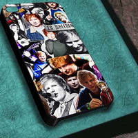 BLOCKCD ed sheeran collage  iphone 4/4s/5/5s/5c, samsung galaxy s3/s4/s5 and ipod touch 4/5 custom