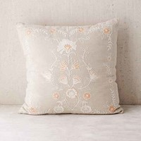 Folk Floral Pillow