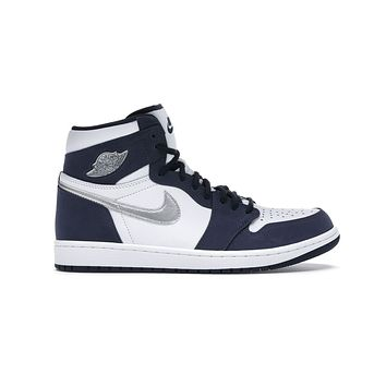 Air Jordan 1 Big Kid's GS Retro High Midnight Navy