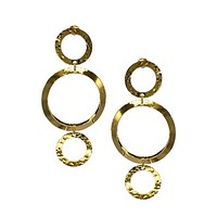 Gold Ava Loop Earrings