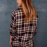 Back Country Flannel Top