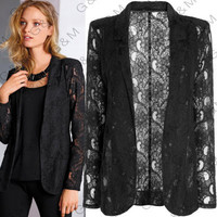 SIMPLE - Hot Popular Lace Business Casual Suit Outerwear Jacket a12973
