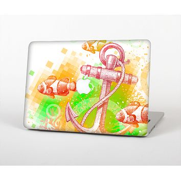 """The Color-Red Anchor Under The Sea Skin for the Apple MacBook Air 13"""""""