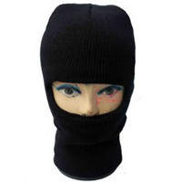 Solid Color Unisex Knitted Balaclava Mask