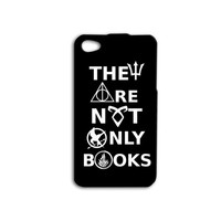 They Are Not Only Books Quote iPhone Case Cute iPod Case Funny Nerd iPhone Case iPhone 4 Case iPhone 5 iPhone 5s iPhone 4s iPhone 5c iPod 5