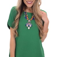 It's a Date Top, Green