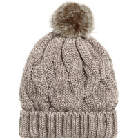 H&M Wool-blend Cable-knit Hat $9.99