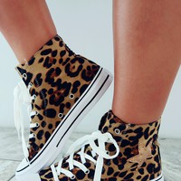 So Chill Sneakers: Cheetah