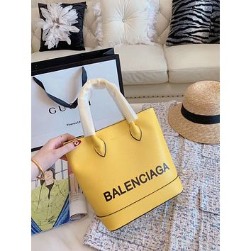 balenciaga Women Shopping Leather Tote Handbag Shoulder Bag