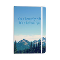 "Robin Dickinson ""It's A Helluva Life"" Blue Mountain Everything Notebook"