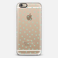 Mint Polka Dot iPhone 6 case by Pencil Me In   Casetify