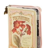 Boho, Scholastic The Writing on the Wallet in Polyanthus by Disaster Designs from ModCloth