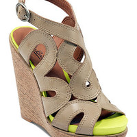 Lucky Brand Shoes, Penrose Platform Wedge Sandals - SALE & CLEARANCE - Shoes - Macy's