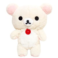 Korilakkuma Fuzzy Medium Plush USA