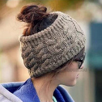 Lady Women Warm Winter Woolen Headband Ear Cover Ear Warmer Head Wear HeadBand = 1651424580