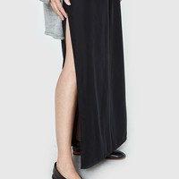 Which We Want / Maxi Skirt in Black