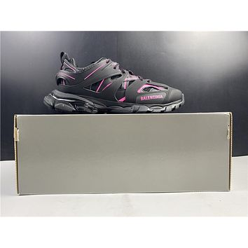 Balenciaga Triple S Trainers All Black Pink Sneakers 36-45