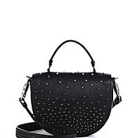 Christian Louboutin - Panettone Studded Messenger Bag - Saks Fifth Avenue Mobile