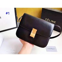 Celine sells simple solid-colored shopping bag with a stylish retro shoulder bag #1