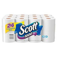 Scott 1000 Septic-Safe Toilet Paper 24 Regular Rolls