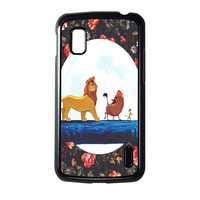 The Lion King Disney Floral Nexus 4 Case